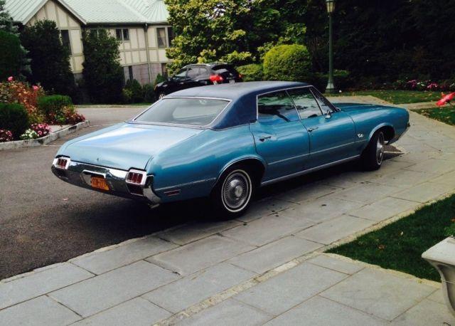 Sell Junk Cars >> 1972 Oldsmobile Cutlass 4 Door Hardtop Sedan - 69,800 ...