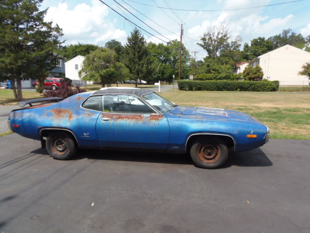1972 Roadrunner Project Car Rat Rod Muscle Car
