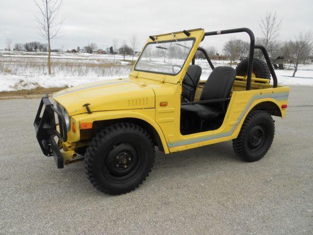 Jeep Brute For Sale >> 1972 SUZUKI LJ20 JIMNY 4X4 JEEP 2-STROKE RUNS / DRIVES ...