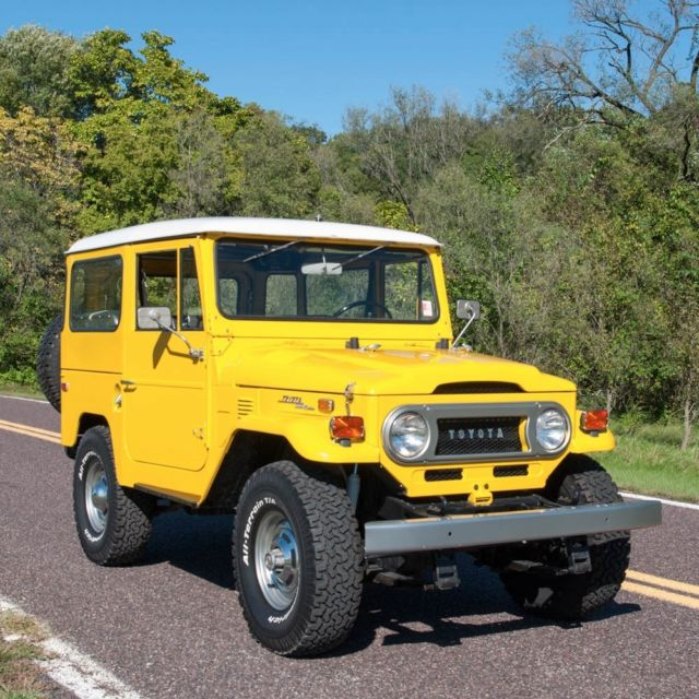 Toyota Fj40 Hardtop For Sale