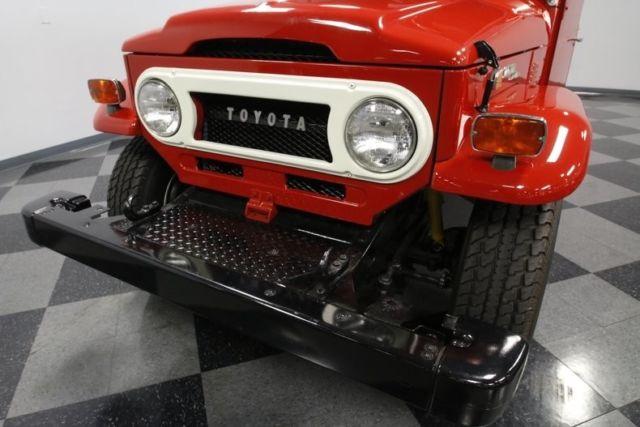 1972 Toyota FJ40 Land Cruiser SUV 3 9L F Inline 6-cylinder 3