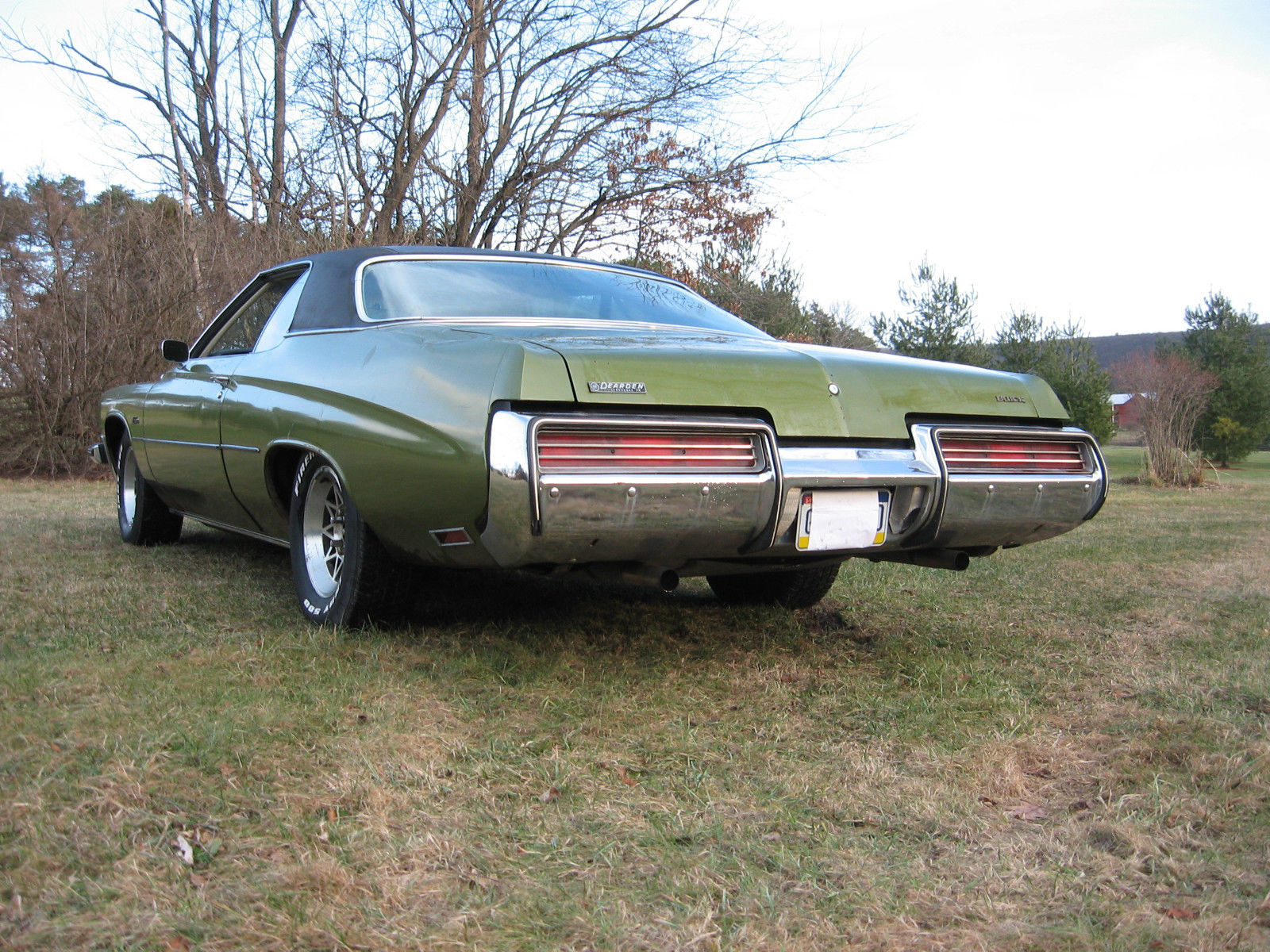 Buick Lesabre Dr Hardtop Runs And Drives Low Budget Cruiser Bl on 1973 Buick Lesabre 2 Door Hardtop