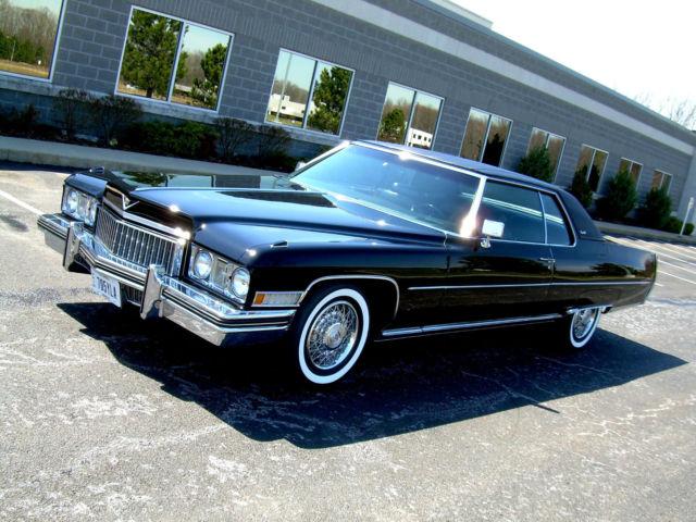 1973 cadillac coupe deville 15 026 miles 64 65 66 67 68. Black Bedroom Furniture Sets. Home Design Ideas