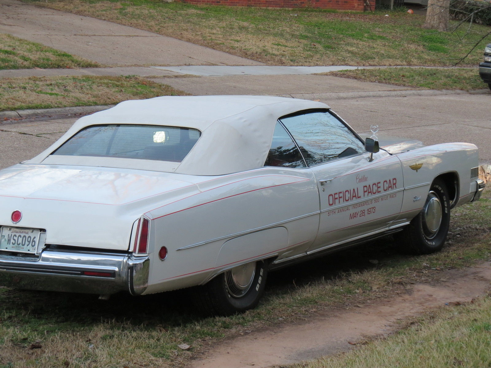 1973 cadillac eldorado convertible indianapolis 500 pace 50 known cars for sale in. Black Bedroom Furniture Sets. Home Design Ideas