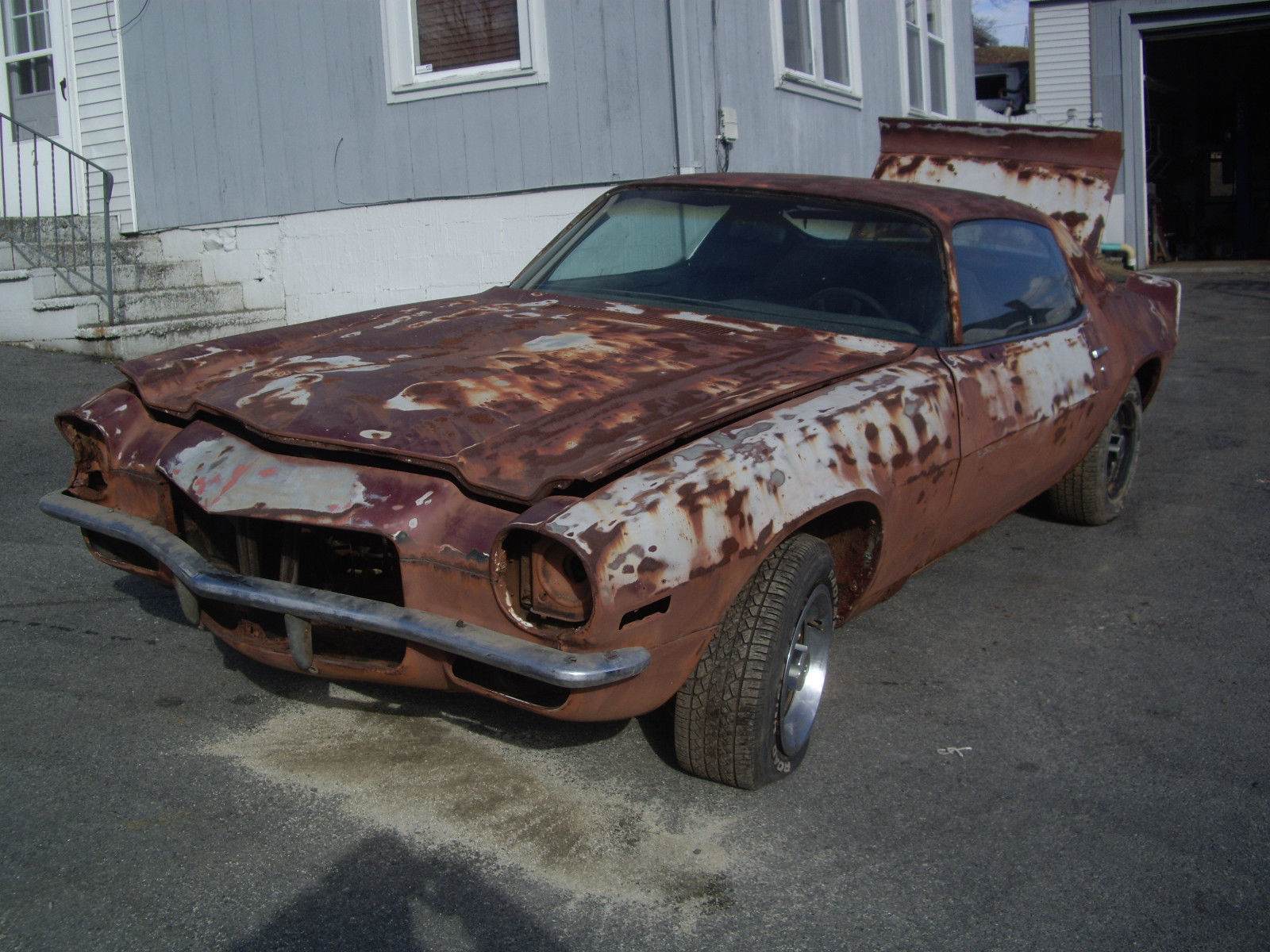 Camaro Type Lt Z Speed Numbers Matching Barn Find Project Car