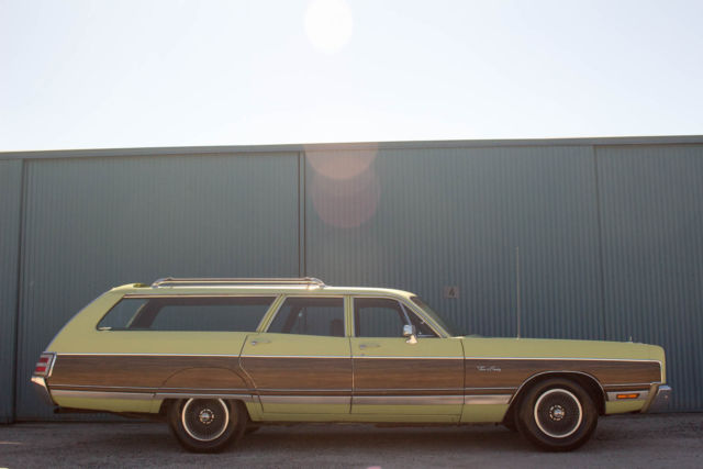 1973 Chrysler Town Amp Country Station Wagon Time Capsule