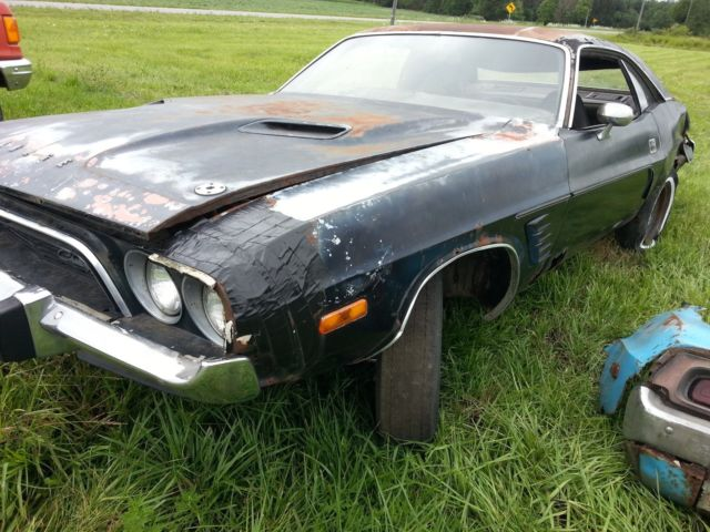 1973 Dodge Challenger Rally Rough Major Project Or Parts