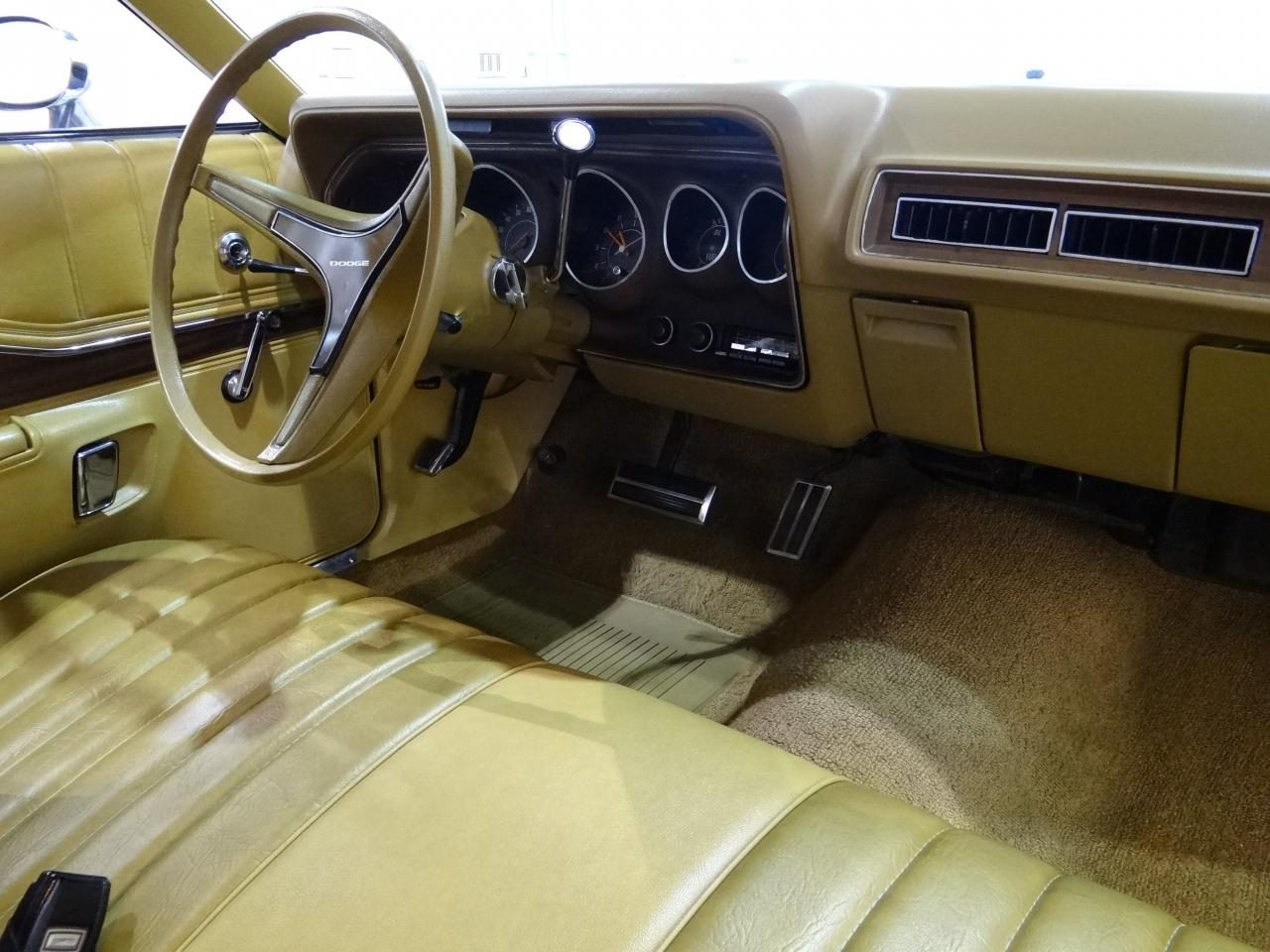 1973 Dodge Charger Se 26448 Miles Gold 2dr 318 Cid V8 3 Speed Automatic