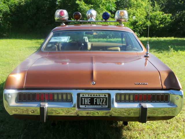 1973 DODGE POLARA POLICE CAR, THE REAL DEAL, TEXAS POLICE