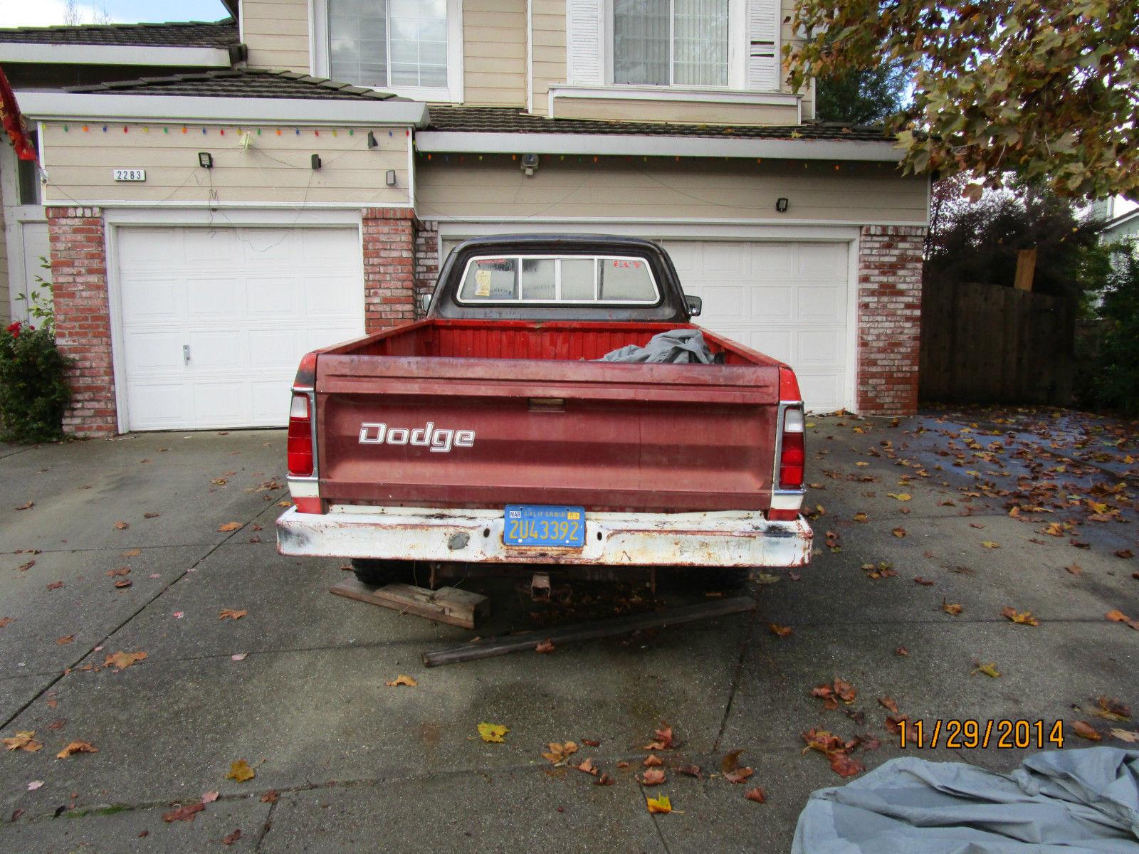 1973 Dodge W100 PowerWagon Longbed