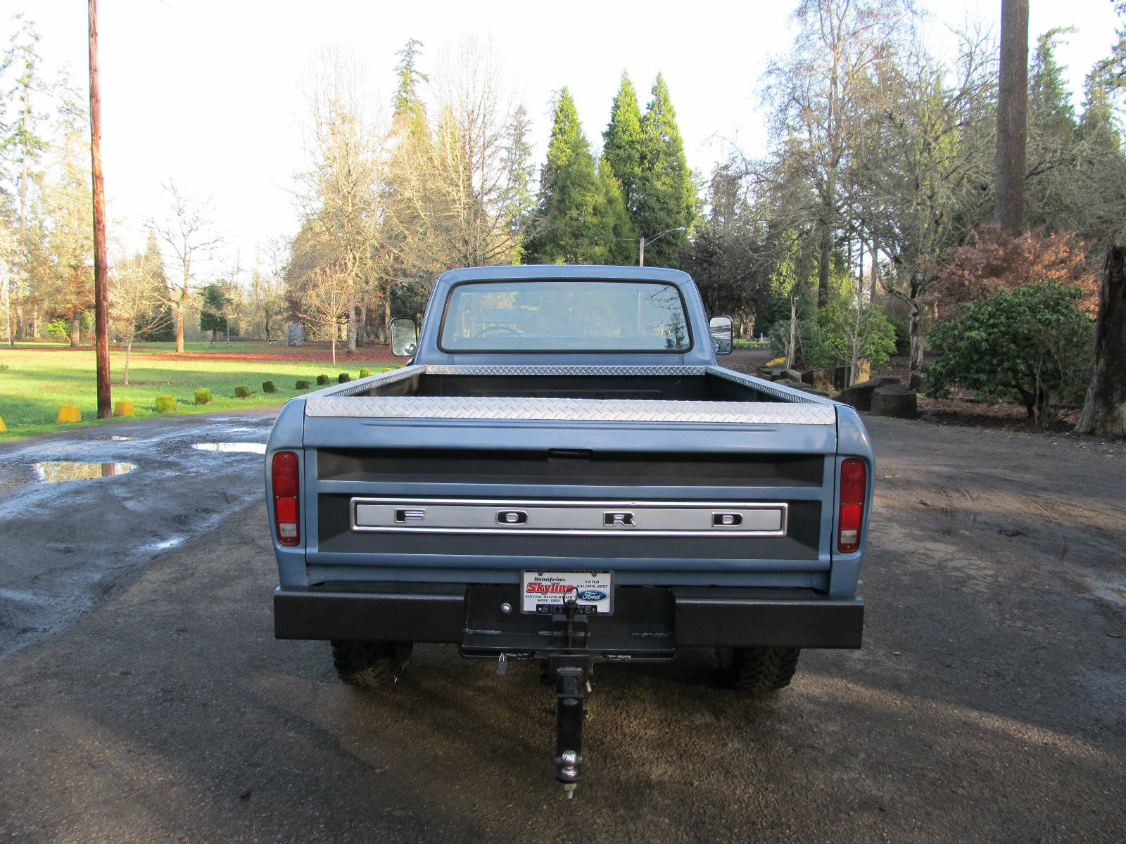 1973 Ford 4x4 Front Axle : Ford f highboy