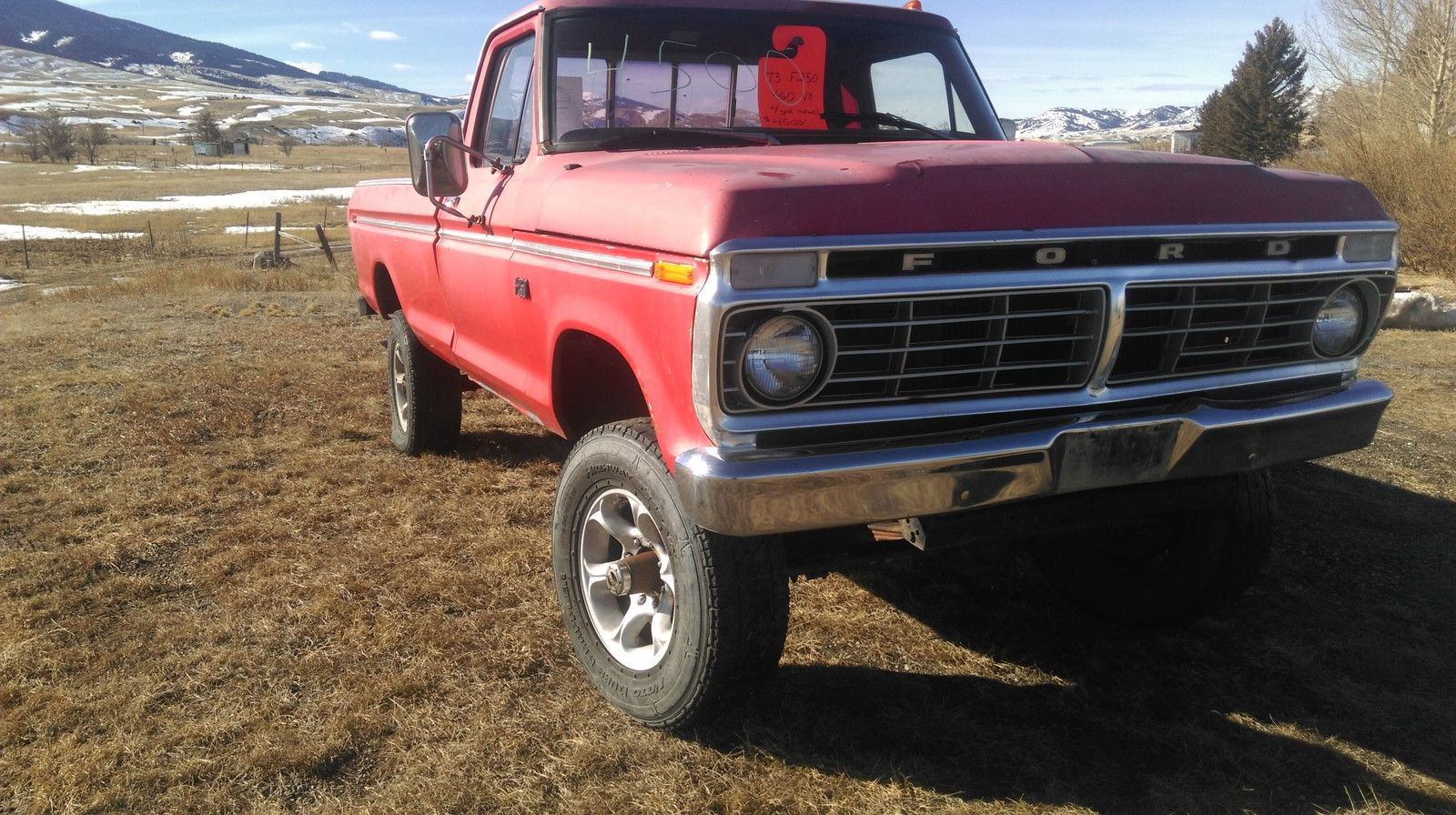 1973 Ford F250 High Boy 460 Ci 1969 F 250 4x4 Highboy
