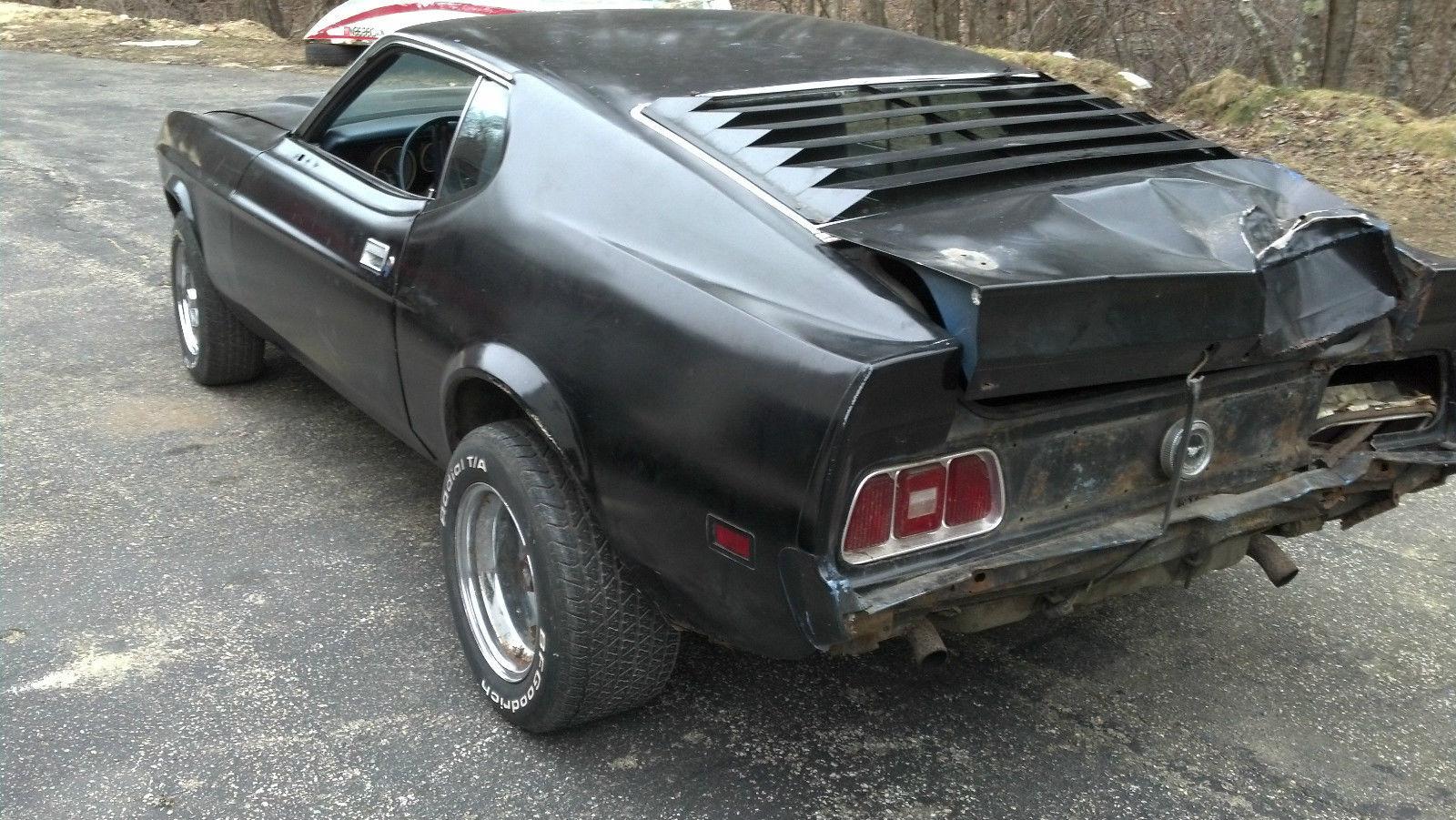 1973 Ford Mustang MACh 1 351 Cobra Jet 4 speed needs work