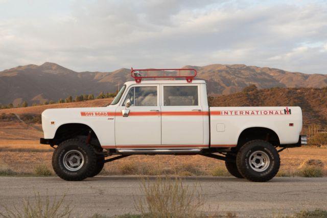 International Crew Cab 4x4 For Sale >> 1973 International Harvester Travelette 4x4 Crew-Cab Pickup Truck