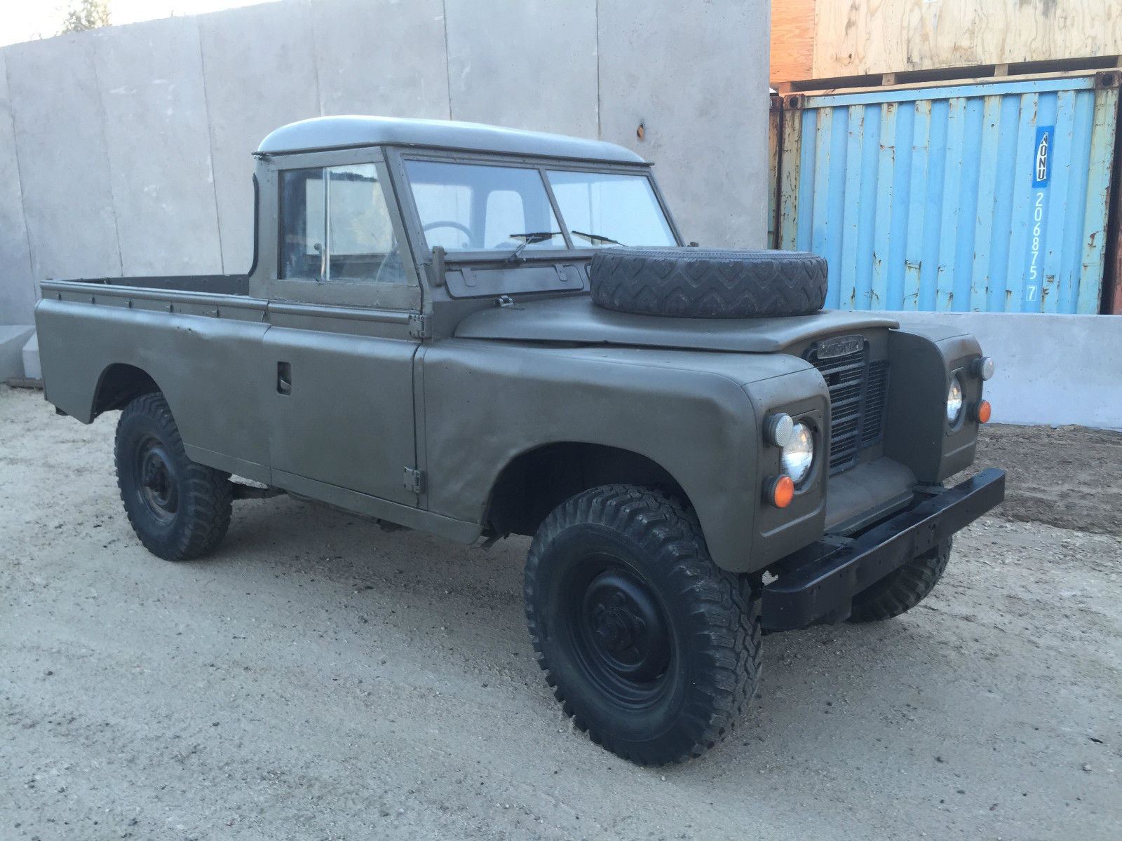 1973 land rover 109 pick up truck  rare  for sale in santa