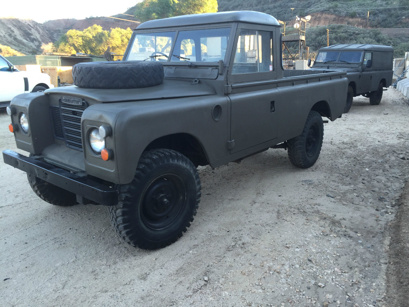 1973 land rover 109 pick up truck rare for sale in santa clarita california united states. Black Bedroom Furniture Sets. Home Design Ideas