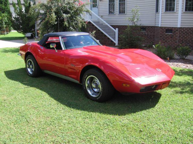 1973 little red corvette convertible eastern north carolina video too. Black Bedroom Furniture Sets. Home Design Ideas