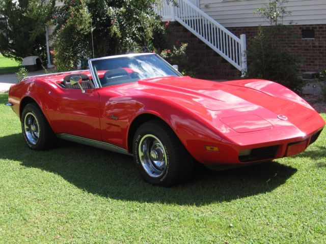 1973 little red corvette convertible eastern north carolina video too. Black Bedroom Furniture Sets. Home Design Ideas