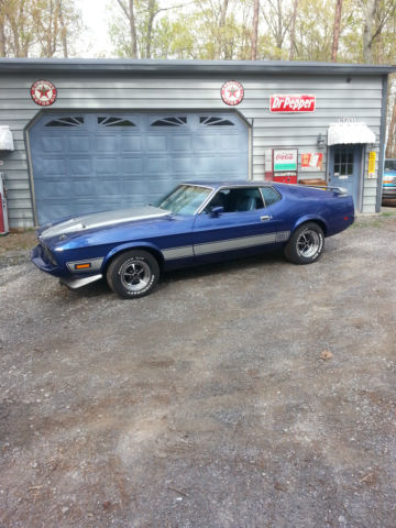 1973 MUSTANG MACH 1 REAL 05 CODE CAR SOLID ESTATE FINDH CODE