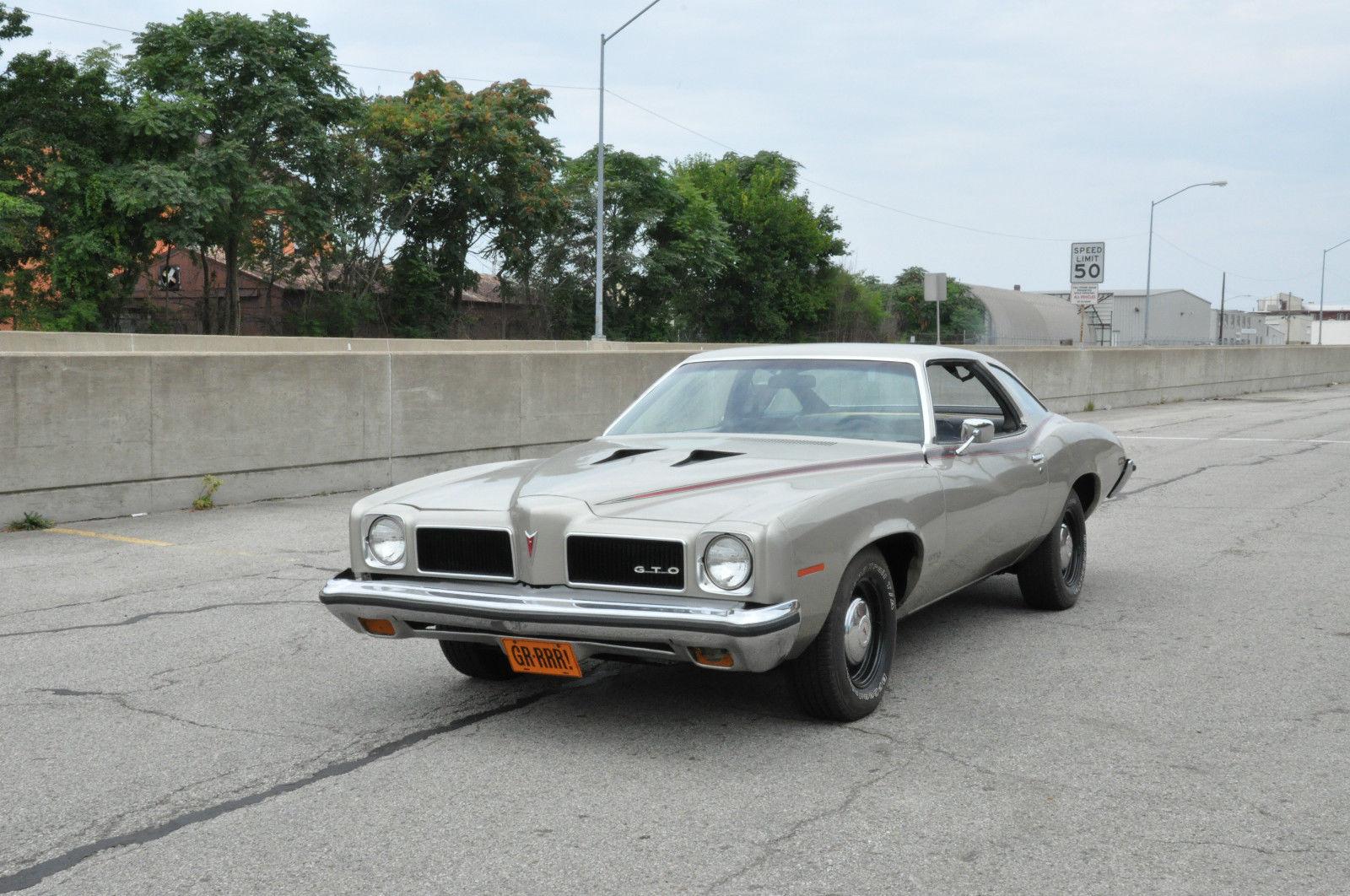 1973 Pontiac Gto 4 Speed 400 C I Coupe Base Hardtop 2