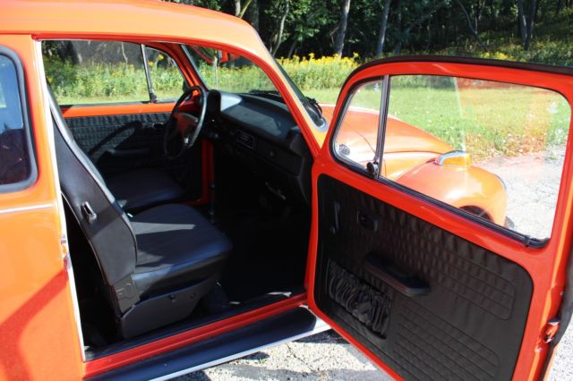 1973 Volkswagen Super Beetle 1600 Cc Automatic Stick Shift One Owner