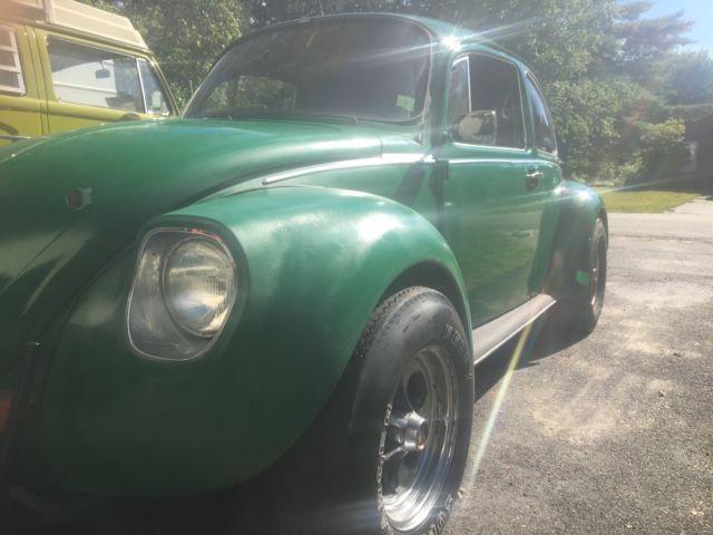 1973 Volkswagen Super Beetle Custom Interior Wide Wheels