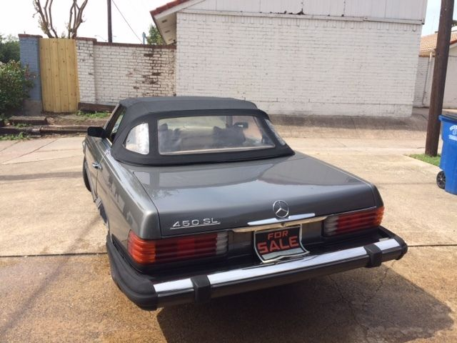 1974 450 sl roadster for Mercedes benz for sale in dallas tx