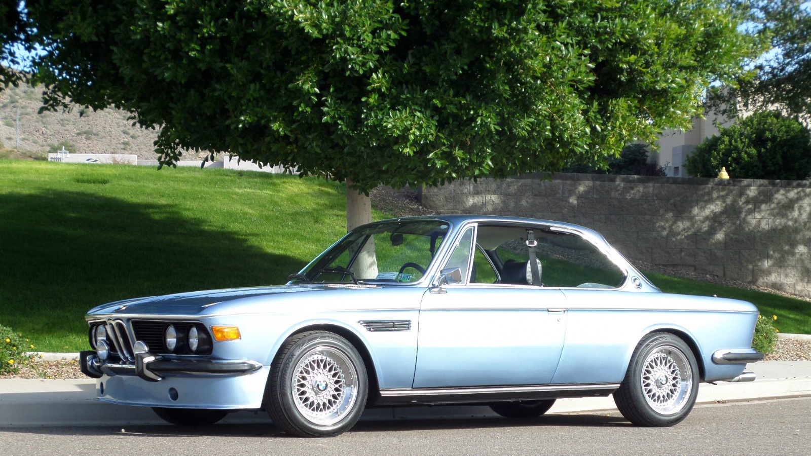 1974 bmw 3 0 csi 5 speed a c fjord blue beautiful must see. Black Bedroom Furniture Sets. Home Design Ideas