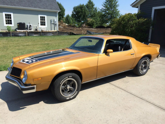 1974 Camaro Z28 All Matching S Drivetrain Recently Painted And Engine Rebuilt