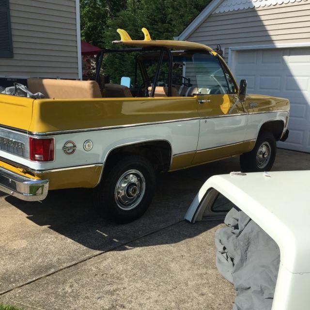 1974 Chevy Blazer Mint Jaws Truck Make An Offer