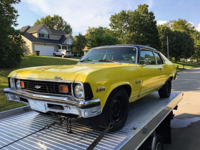 1974 Chevy Nova Custom W 350 1969 Chevrolet 1970 1971
