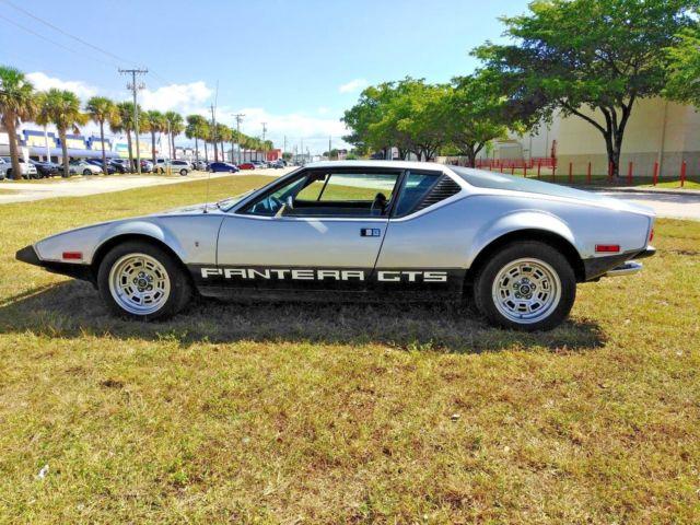 De Tomaso Pantera For Sale Usa >> 1974 DeTomaso Pantera 7000 Series GTS Interesting trades maybe