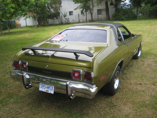Dodge Dart Sport Sunroof Spd Mopar Plymouth Chrysler Duster Demon