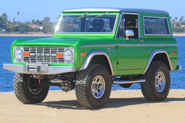 1974 ford bronco best of the best 690 on full frame off. Black Bedroom Furniture Sets. Home Design Ideas
