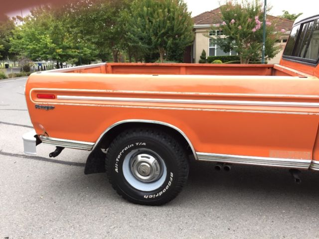 1974 Ford F 250 Supercab Camper Special Runs And Looks