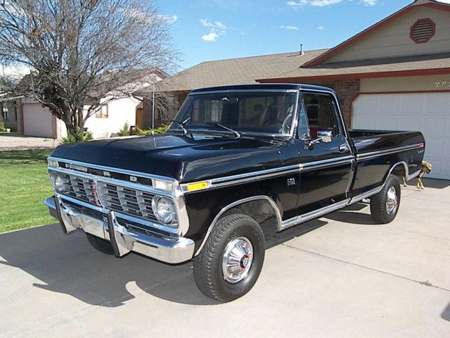 1974 ford f100 ranger xlt 4x4 f150 f series