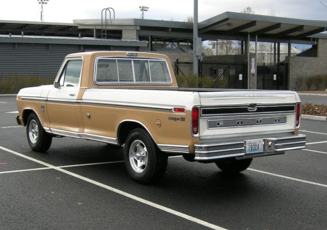 1974 ford f100 ranger xlt pickup truck. Black Bedroom Furniture Sets. Home Design Ideas