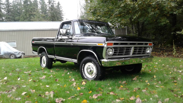1974 ford f100 ranger xlt swb 4x4 restored 0 rust built 390 f100 f250 high boy. Black Bedroom Furniture Sets. Home Design Ideas