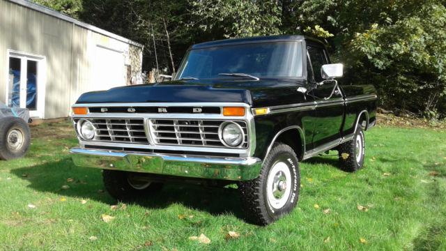 1974 ford f100 ranger xlt swb 4x4 restored 0 rust built 390 f100 f250 high boy. Black Bedroom Furniture Sets. Home Design Ideas