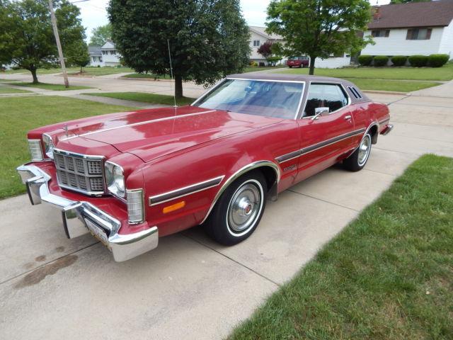 1974 Ford Gran Torino Elite 58900 Miles 351 Ci Rwd Classic