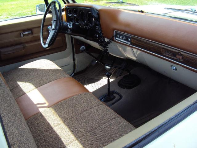 Chevy El Paso >> 1974 GMC SIERRA 15HUNDRED chevrolet silverado 4x4 short ...
