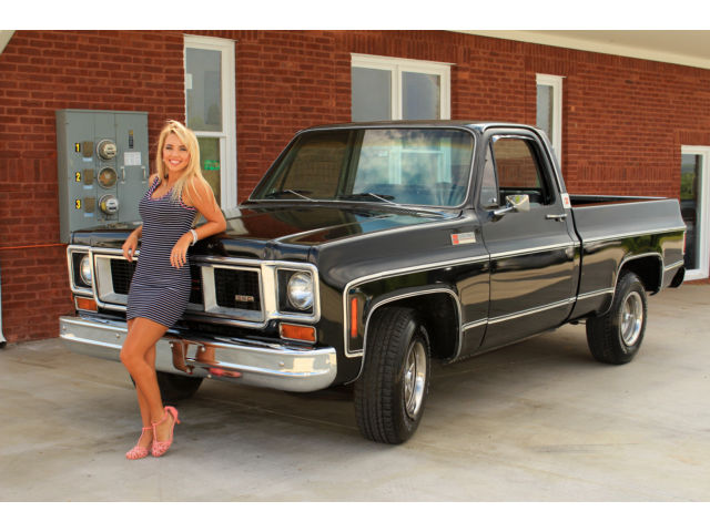 1974 Gmc Sierra Grande Pick Up Holiday Sale Ps Pdb Ac 350