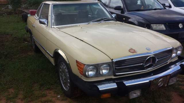 1974 mercedes benz 450sl restore or parts car