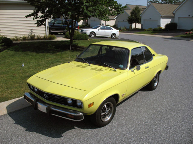 Opel manta for sale usa