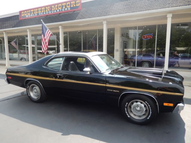 1974 plymouth duster super pace duster factory sunroof