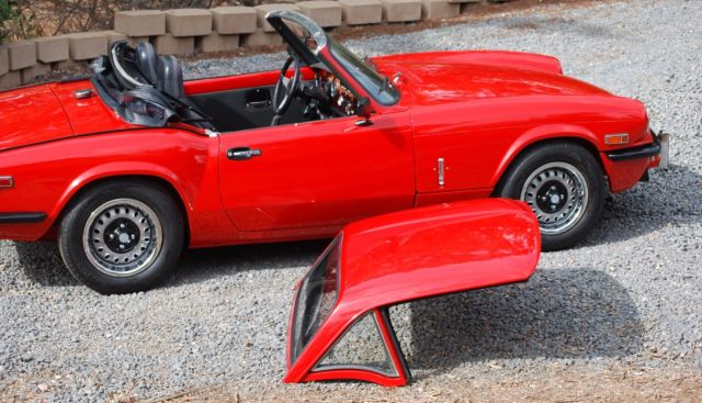 1974 Triumph Spitfire Completely Restored