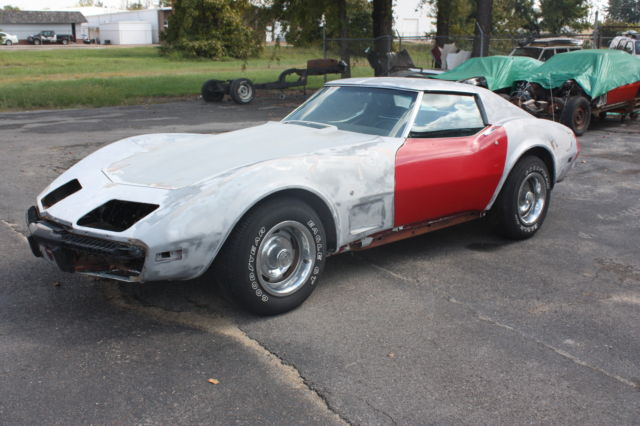 1975 c3 corvette stingray solid running driving project 350 matching numbers. Black Bedroom Furniture Sets. Home Design Ideas