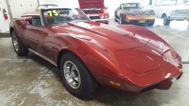 1975 chevrolet corvette convertible restored must see. Black Bedroom Furniture Sets. Home Design Ideas