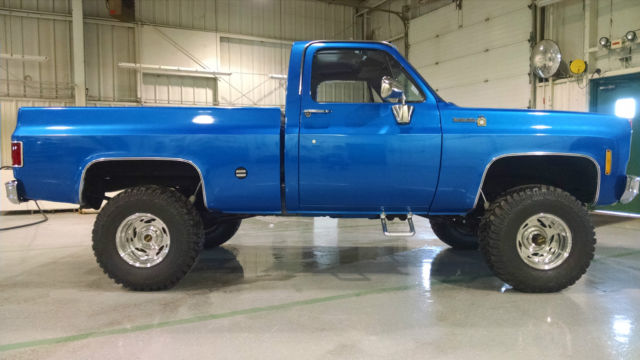 Lifted Trucks For Sale In Ohio >> 1975 Chevy 4X4 Four Wheel Drive C15 Pickup Truck Scotsdale Pro Tour Mud Lifted for sale in ...