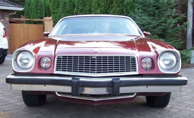 1975 chevy camaro type lt 350 cid automatic go fast classic and runs fabulous. Black Bedroom Furniture Sets. Home Design Ideas